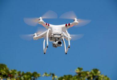 Drohnen test